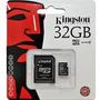 Micro Cartão + Adaptador Kingston 32gb - Lacrado Original