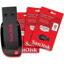 Pen Drive Sandisk 8 Gb Pendrive 8gb Cruzer Blade - Original