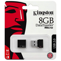 Pen Drive Kingston 8gb Dtmck Micro 100% Original Lacrado