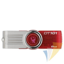 Pen Drive Kingston 8gb Flash Memory Dt101g2 Vermelho - Dt101