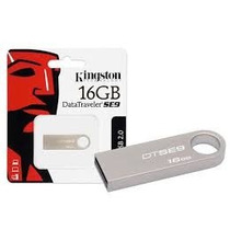 Pendrive 16gb Kingston Dtse9 Metal Original Lacrado