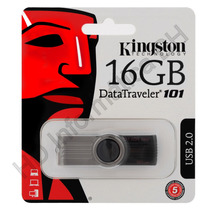 Pen Drive Kingston 16gb Dt101g2 Original Lacrado
