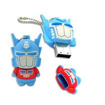 Pen Drive 8gb Personalizado Transformers - Emborrachado