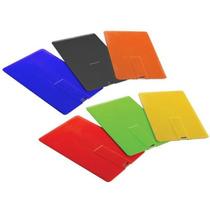 Kit 20 Pen Drive Cartão De Crédito 8gb ,personalizados