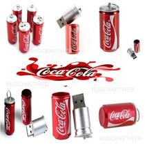 Pendrive E Chaveiro Coca Cola Latinha - 4gb Fréte + Barato