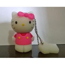 Hello Kitty Rosa 8gb(frete R$6,00 Para Todo Brasil)