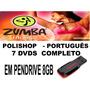 Zumba Em Pendrive Pra Tv Com Usb Completo Português