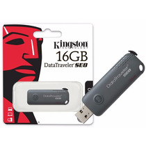Pen Drive Kingston Datatraveler Dtse8 - 16gb - Usb 2.0 Gris