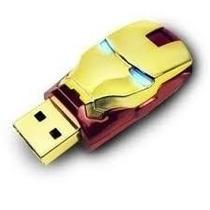 Pendrive Homem De Ferro 8gb - Frete Grátis Br- Imperdível!!!
