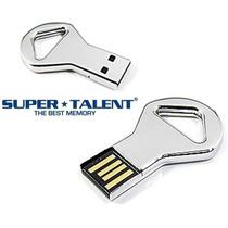 Mini Pen Drive Pico Chave 16gb Super Talent Ckb Prova Dágua