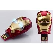 Pen Drive Homem De Ferro 3 8gb Iron Man Edição Limitada