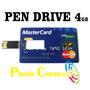 Pen Drive Formato Cartão De Crédito 4gb