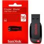 Pen Drive 16gb - Sandisk - Cruzer Blade - Compre Agora!