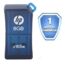 Pen Drive Hp V165w 8gb - Usb 2.0 - 12 Meses De Garantia + Nf