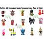 Pen Drive 4gb Personalizado Desenho Personagens Boneco Times