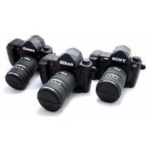 Pen Drive 4gb Personagens Câmera Fotográfica Personalizado