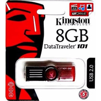 Pen Drive / 8gb Kingston Dt 101 G2 Original 100%
