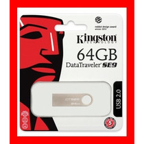Pen Drive Kingston 64 Gb 100 % Original Garantia 5 Anos
