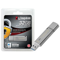 1272 Pen Drive Criptografia Kingston Dtlpg3/32gb Datatravel