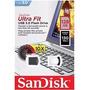 Pen Drive Usb 3.0 128gb Sandisk Ultra Fit Sdcz43 G46 Lacrado