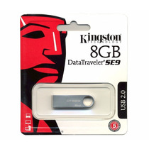 Pendrive Kingston 8gb Datatraveler Se9 Original Lacrado