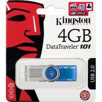 Pen Drive 4gb Kingston Dt101 Pendrive 4 Gb Original