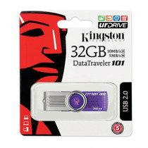 Pen Drive Kingston 32gb Dt101 G2 100% Original Lacrado