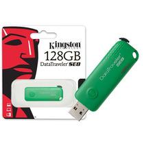 Pen Drive Usb 2.0 Kingston Datatraveler Se8 128gb Verde