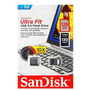 Mini Pendrive Sandisk Ultra Fit Z43 3.0 128gb Original