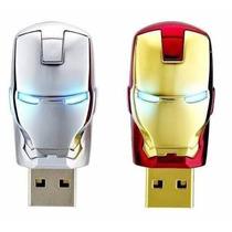 Pen Drive Iron Man 64gb Homem De Ferro - A Pronta Entrega***