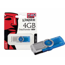 Pen Drive 4gb Kingston Original Lacrado - Dt101 G2/4gb