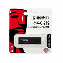 Pen Drive Usb 3.0 64gb G3 100 Kingston - Dt100g3/64gb