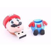 Pen Drive Personalizado Super Mario Bross, 4gb De Memória.