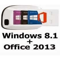 Pen Drive Boot Win 8.1 32/64bit + Kit Programas Atualizados