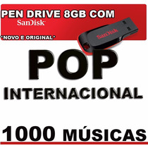 Pen Drive Music 1000 Pop Internacional