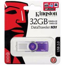 Pen Drive 32gb Kingston Dt101 Novo Lacrado