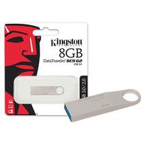 Pen Drive Kingston 8gb Usb Alumínio Mania Virtual