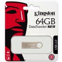 Pen Drive 64gb Usb 2.0 Kingston Datatraveler Se9