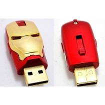 Pen Drive Homem De Ferro 8 Gb Iron Man Marvel Vingadores