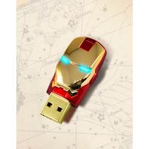 Pen Drive Homem De Ferro - The Avengers 8gb - Frete 5 R$!
