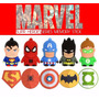 Pen Drive 4 Gb Marvel Excelente Qualidade. Exclusivo No Ml !