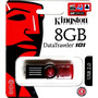 Pen Drive 8gb Kingston Dt101 G2 Original 100% Menor Preço