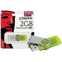 Pen Drive 2gb Kingston Original Lacrado - Dt101 G2/2gb