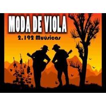 Sertanejo Moda De Viola 08gb (2.192 Música)