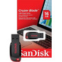 Pen Drive 16g Sandisk 16gb Cruzer Blade Kit Com 10 Original