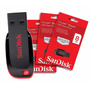 Pen Drive 8 Gb Sandisk Novo Na Embalagem Lacrada Original