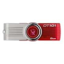 Kit 2x Pen Drive 8gb Kingston Dt101 G2 Original Lacrado Novo
