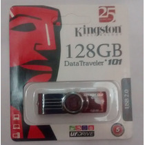 Pen Drive Kingston 128gb Usb 2.0 Dt101 G2