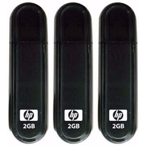 Kit 10 Pen Drives 2gb Hp Original Usb - Lacrado Blister