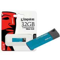 Pen Drive Usb 3.0 Kingston Dtm30/32gb Datatraveler Mini 32g